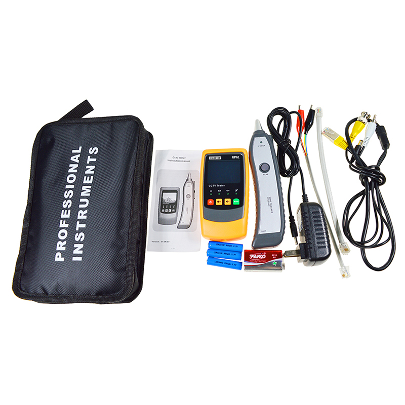 цена на Telephone Wire Tracker Tracer Toner Ethernet LAN Network Cable Tester Detector Line Finder