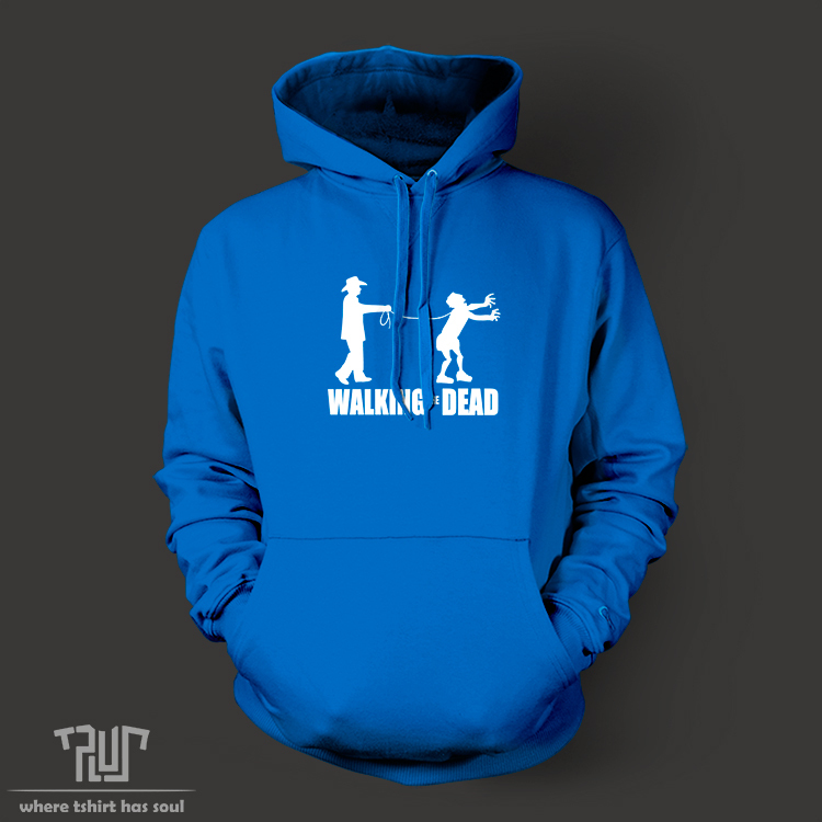 walking the dead funny design font b men b font unisex pullover font b hoodie b