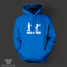 walking the dead funny design men unisex pullover hoodie 10 3oz weight organic cotton fleece quality