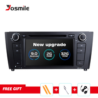 Josmile 2 Din Android 9.0 AutoRadio For BMW E87 1 Series E88 E82 E81 I20 D Audio GPS Navigation DVD Multimedia 4G Wifi DAB+ CD