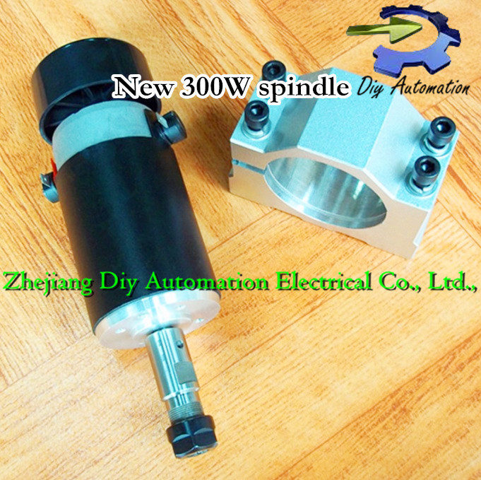 Free shipping FREE 1pcs ER11 chuck 0.3kw spindle DC 12-50 CNC 300W Spindle Motor Mount Bracket 12V 50V for PCB Engraving shop promotions free 1pcs 3 175 1 8 chuck 10pcs dc 12 57 cnc 200w spindle motor mount bracket 12 110vdc for engraving carving