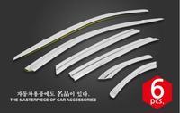 Otomobiller ve Motosikletler'ten Krom Şekillendirici'de ABS krom plastik pencere siperliği havalandırma tonları güneş yağmur koruma araba aksesuarları Mercedes Benz GLE ML GLEcoupe 2016 2017 2018 2019