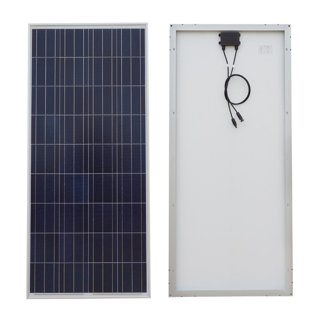 USA UK Stock 100W Solar Panel Off Grid Kit W systerm 20A CMG Temperature Controller for 12V Battery Charger home kit