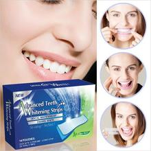 2pcs/lot Advanced Teeth Whitening Strips Dental Whitening Kit 360 Degree Enamel White Whitestrips Oral Hygiene MR0019