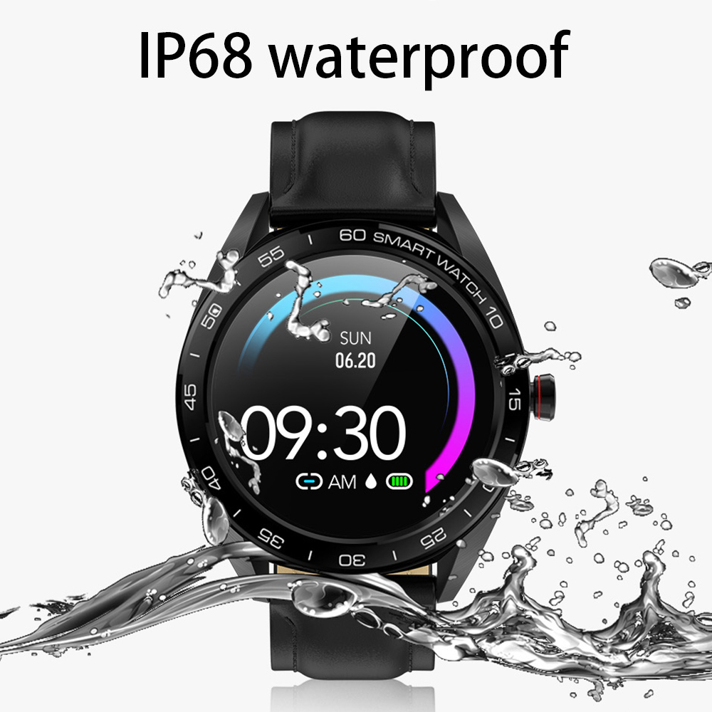 "Image 5 - Virtoba K7 1.3"" Smart Watch Men IP68 Bluetooth Blood Oxygen Heart Rate Monitor Fitness Tracker Sports Smartwatch Android iOS-in Smart Watches from Consumer Electronics"