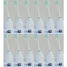 Новые 12 шт. сменные насадки для зубной щетки Philips Sonicare HX7002/62 серии e