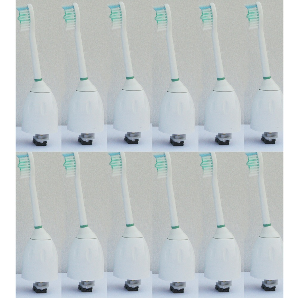 NEW 12-Pack Replace Brush Heads for Philips Sonicare Toothbrush HX7002/62 e-Series цена и фото