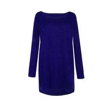 Women Long Sleeve Long Maxi Sweater casual Pullovers Autumn Winter Female Zipper Jumpers Plus Size 4XL