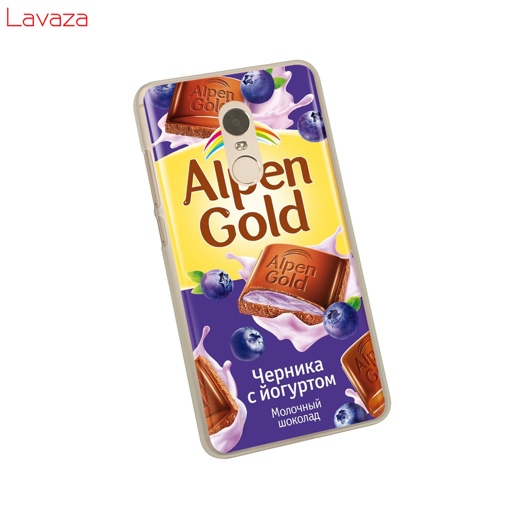 Lavaza alenka bar wonka chocolate Hard Phone Case for Xiaomi Redmi 5 Plus 6A 4A S2 Go Note 5A Prime 5 6 7 Pro 4x Cover in Half wrapped Cases from Cellphones Telecommunications