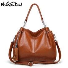 aliexpress.com - NIGEDU Brand Luxury Women Handbags Designer PU Leather  Crossbody Bag Fashion Female Messenger Bags Shoulder Bag Ladies Big Totes -  imall. ... f27d5c2e19
