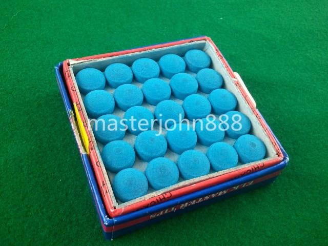 50pcs Glue-on Pool Billiards Snooker Cue Tips 10mm...
