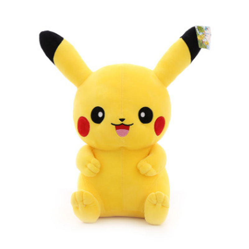 Hot Kawaii Pikachu  Plush Cute Soft Comfortable Kawaii Plush Toys Movie Animal Plush Doll Nap Pillow Baby Kids Toy Children Gift