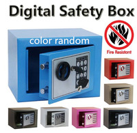 digital safe box safety money gun electronic lock safe fireproof safes for home strongbox small cash security lockable storage