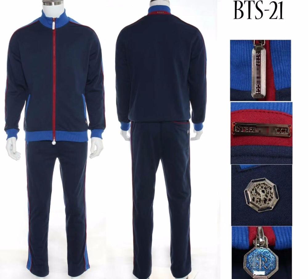 BillionaireTACE & SHARK sprotwear mężczyźni 2018 w nowym stylu komfort na co dzień wysokiej jakości jednolity kolor przystojny odzież darmowa wysyłka w Zestawy męskie od Odzież męska na  Grupa 1