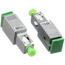 SC APC חד נקבה לזכר אופטי מחליש עם 2dB 3dB 5dB 7dB 10dB 15dB סיבים אופטי מחליש