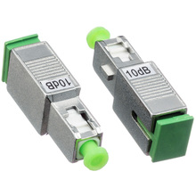 SC APC Singlemode Female to Male Optical Attenuator with 2dB 3dB 5dB 7dB 10dB 15dB Fiber Optic Attenuator цена