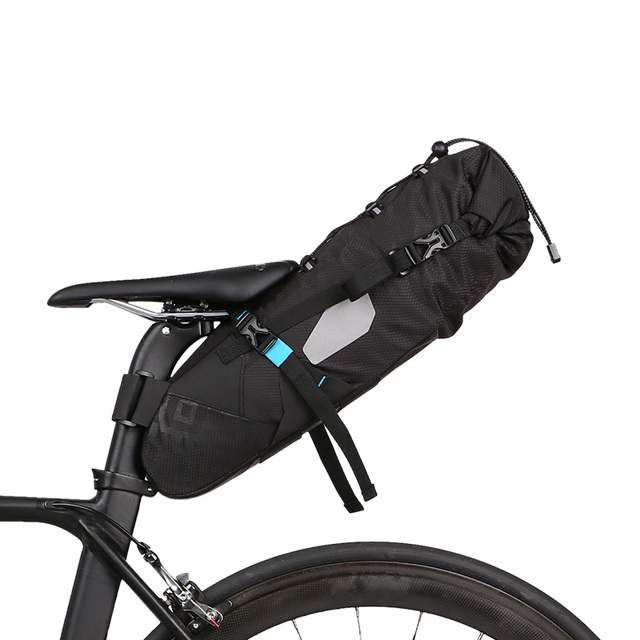 Roswheel 10l 100 Waterproof Bike Bag Bicycle Accessories Saddle Cycling Mountain Back Seat