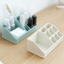 PS Material Makeup Storage Organizer Jewelry Necklace Cosmetic Box Lipstick Desk Holder