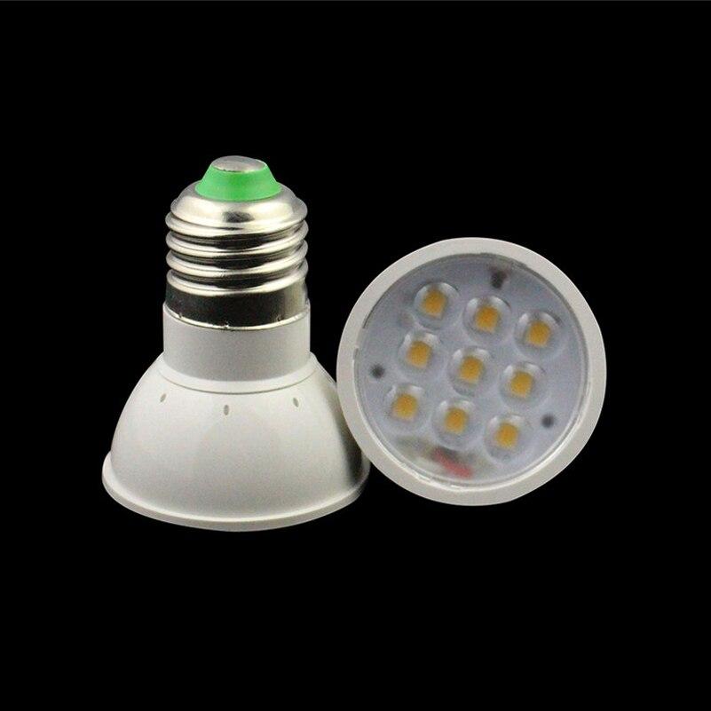 E27 LED spotlight 9 leds 5050 chip high brightness home decoration AC110V 220V free shipping