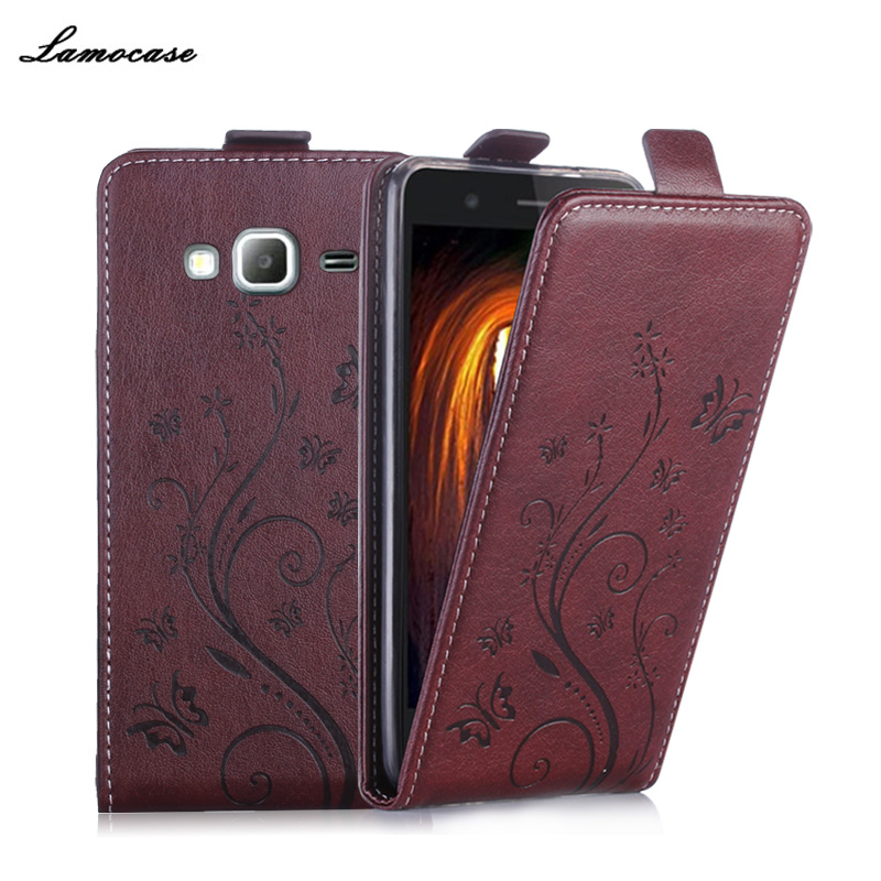 Galleria fotografica Leather Case For Samsung Galaxy J3 2016 J320 J320F J320P Flip Pu Case Cover For Samsung J3 2016 J3109 J320Y SM-J320F Cases JRYH