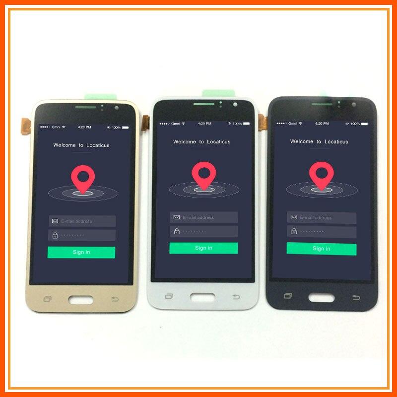 For Samsung Galaxy J1 2016 LCD J120 SM J120F Display J120M J120H J120G LCD Panel + Touch Screen Digitizer Sensor Assembly 4.3