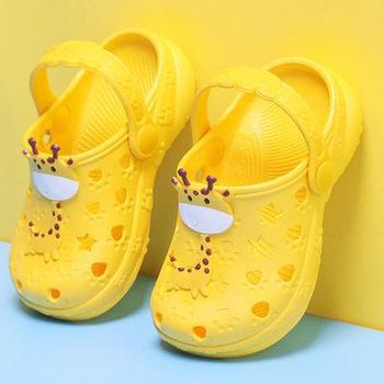 0-7 Years Kids Mules & Clogs Summer Baby Boys Girls Croc Sandals Flat Heels Solid Cartoon Slippers Children's Garden Shoes Y17 - As picture, 31