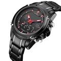 Nuevo top luxury brand naviforce hombres impermeable relojes deportivos militar hombres de cuarzo analógico digital reloj de pulsera relogio masculino