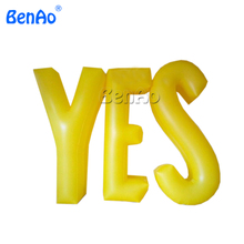 Z388 Giant inflatable words for Stage Decorations or event,customized giant inflatable pvc letters display inflatable publicity