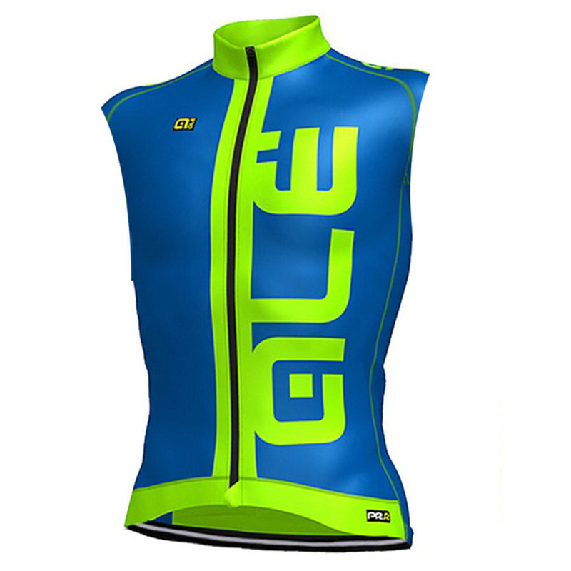 ALE PROFESSIONAL TEAM 2018 Sleeveless Jacket Bike Sweater Breathable Cycling Apparel Summer Mens Vests Mountain Bike Sportswear
