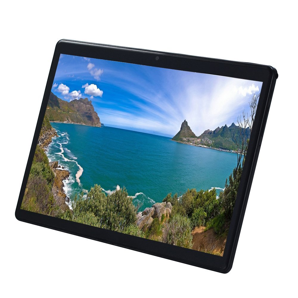 4G LET 10 Inch Tablet PC 2.5D Tempered Glass  Android 7.0 Octa Core 4GB RAM 64GB ROM 1920*1200 IPS Tablet 10