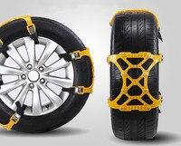 New Car Styling 1PC Winter Truck Car Easy Installation Snow Chain Tire Anti Skid Belt B