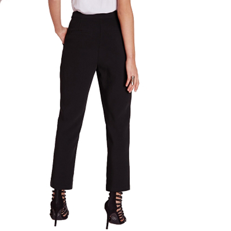 Haoduoyi Black Office pants Suit set  Female Casual Slim Elegant Women