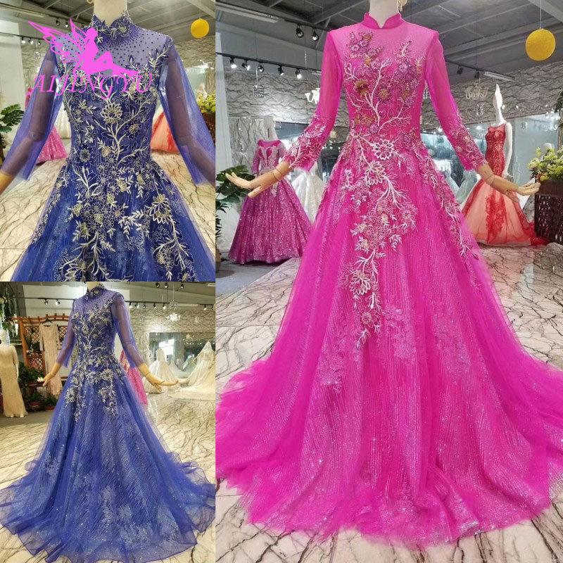 AIJINGYU винтажное платье Свадебные платья со звездами индийские Дешевые Великобритании винтажные Boho женские белые сексуальные индийские пла... - 4