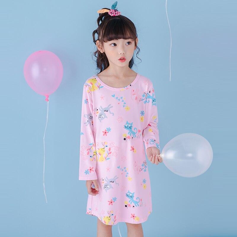 Gewidmet 2019 Mädchen Kleid Kleidung Frühling Herbst Kleider Anzug Pyjamas Für Kleine Mädchen Prinzessin Nachthemd Vestidos Infantis Kleidung Hh701