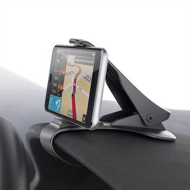 Universal Car Phone Holder Adjustable Dashboard Mount Clip Mobile Smart Phone GPS Stand Bracket For iphone 6 6s 7 8 Plus
