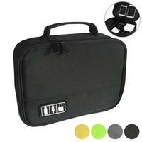 Portable Digital Storage Bag Earphone Data Cables USB Travel Organizer Case Electronic Accessories Handbag Travel Organizer