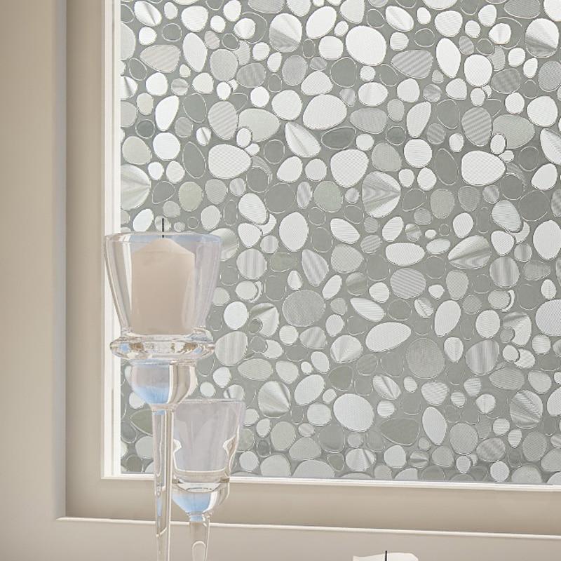 300Mil fenêtre film statique s'accrochent Non-adhésif verre teinte film amovible soleil protection 99% statique film pour fenêtre BZ142-001