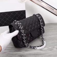 0fb42a544 Bolsas de luxo mulheres sacos de designer classicl 25 centímetros Jumbo couro  Caviar flap bag cadeia Original qualidade entrega .