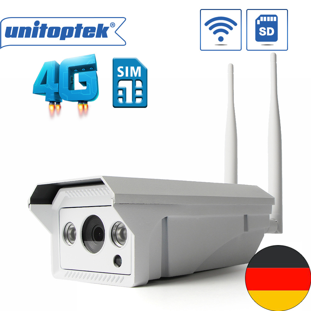 1080P HD 4G 3G SIM Card Wireless WIFI IP Camera 720P Outdoor Infrared SD Card Video Record IR Night Vision CCTV Camera P2P View free shipping walkera dv04 video camera for mini sd card fpv hd camera first person view