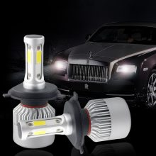 S2 H4 H7 LED Phare Ampoule Car LED Headlight Bulb Auto Phare Antibrouillard 24V 12V H13 H11 H1 9005 9006 H3 9007 9012 72W 8000LM(China)
