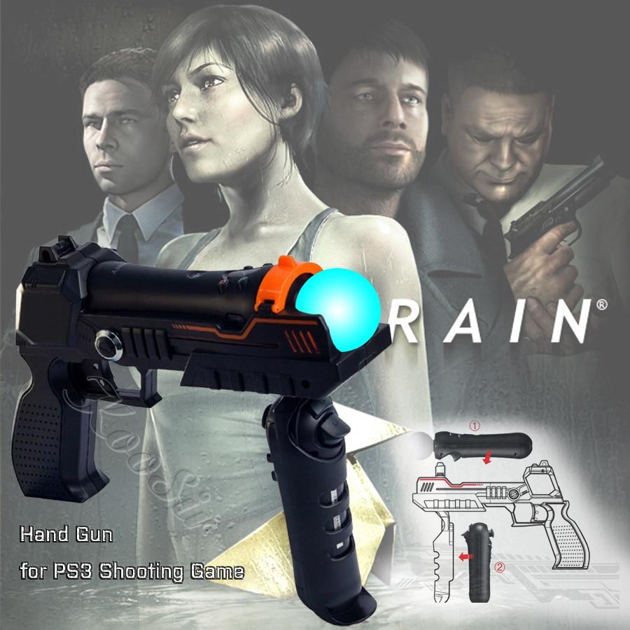 Ps4 magro pro sense acessórios ps mover joystick tiro armas arma de mão para sony playstation 3 ps3 controlador movimento jogo tiro