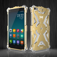 For Xiaomi Note Original Simon Cases THOR IRONMAN Shockproof Metal Back Cover Aluminium Frame Anti Knock