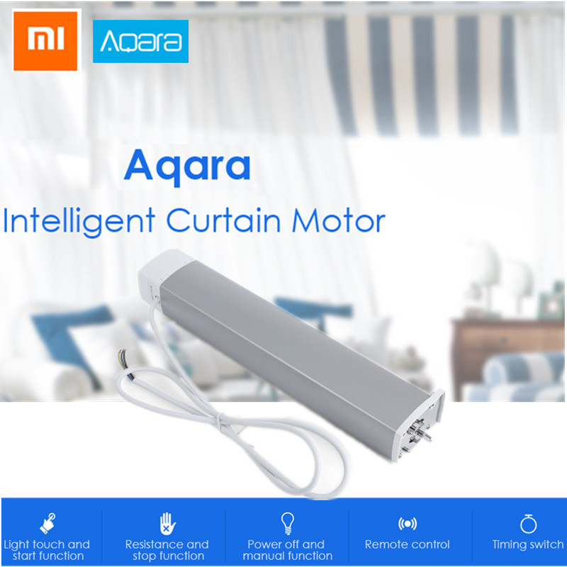 Здесь можно купить  Xiaomi Aqara Intelligent Curtain Motor Smart Home Device ZigBee Wireless Connection Remote Control  Бытовая электроника