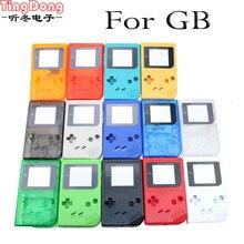 14 cores disponíveis Caso De Substituição Do Jogo de Plástico Shell Capa para Nintendo GB para Gameboy Consola Clássico Caso da habitação