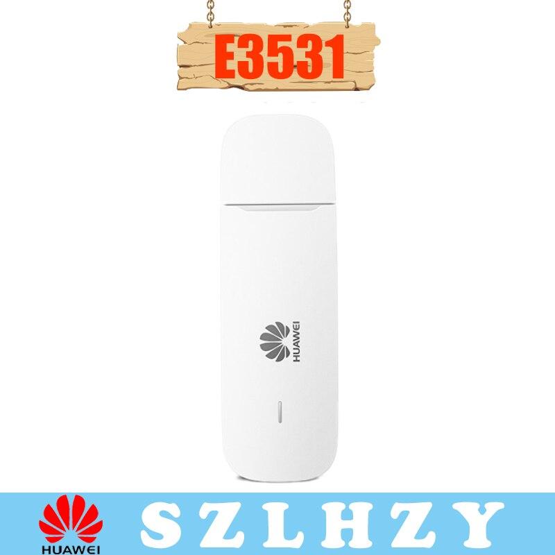Unlocked Huawei E3531 E3531S-6 E3531s-2 3G GSM USB Broadband Modem HSPA+ 21 Mbps 3G Dongle PK E3331 E3531