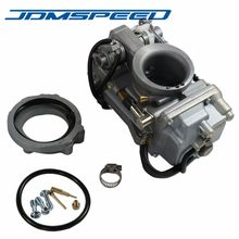Frete grátis-jdmspeed 42-18 42mm fácil kit carburador apto para harley evo twin cam evo mikuni hsr carb