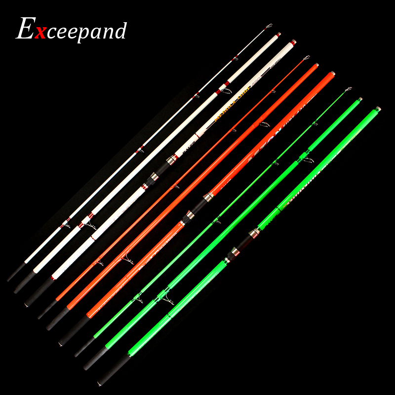 4.2 M Carbon Fiber Blank 3 Sections Long Distance Beach Fishing Surf Casting Rod Casting Weight 100 250 g