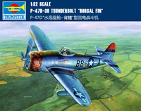 Trumpet 02264 1:32 American P 47D Fighter (dorsal Fin Type) Assembly Model Building Kits Toy