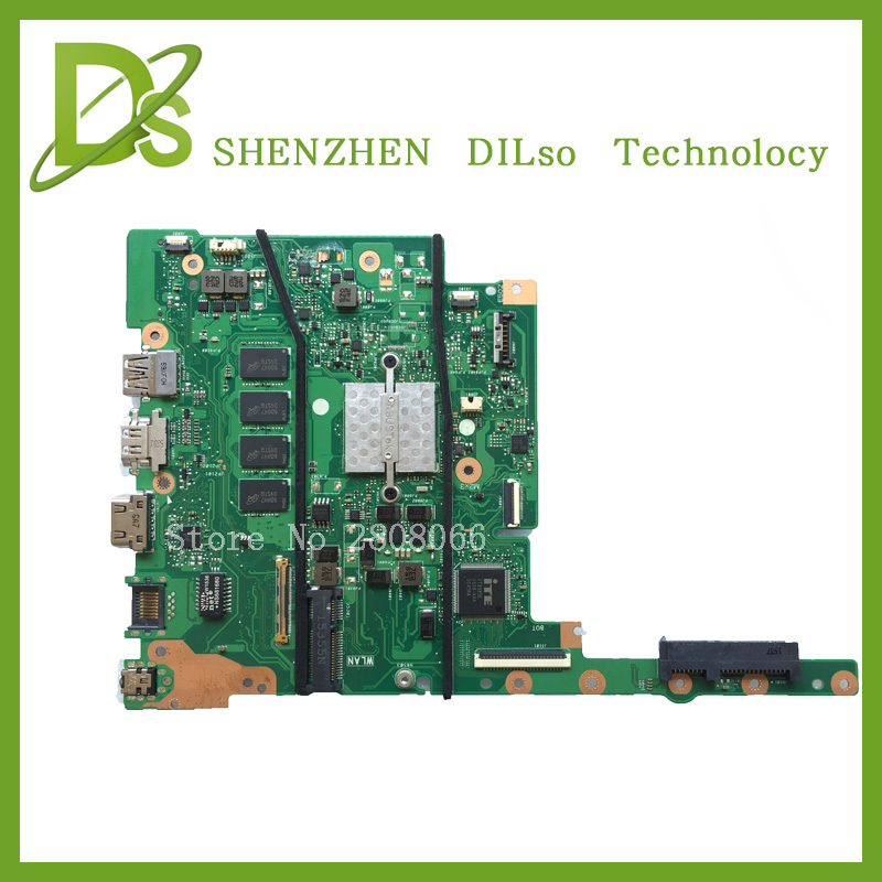SHUOHU E402MA For ASUS E402MA Laptop motherboard E402MA mainboard REV2.0 integrated cpu onboard freeshipping 100% tested for asus a8se laptop motherboard mainboard 100