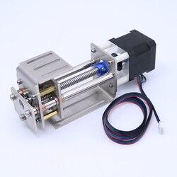 Z Achse Schiebe Arbeitstisch DIY Fräsen Linear Motion für CNC Gravur Maschine